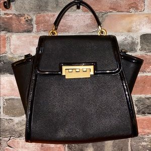 Zac Posen Black Eartha Bag